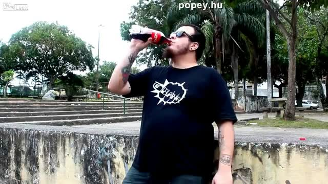 Coca Cola és a Mentos hatása