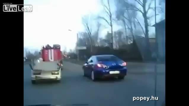Akcióban a ruszki tűzoltók