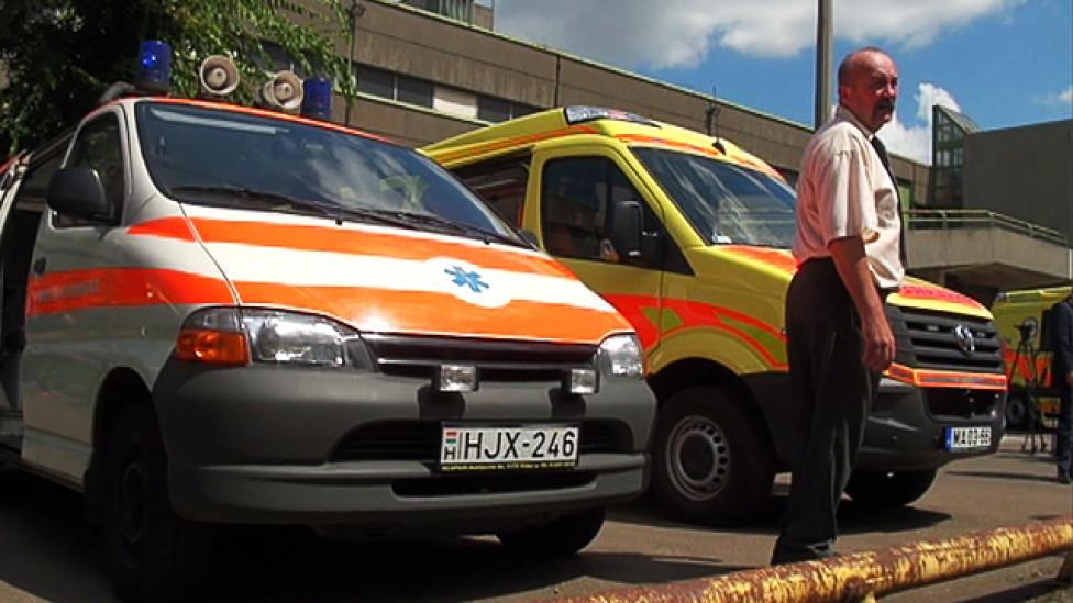 Az új mentőautó nem rázza a beteget