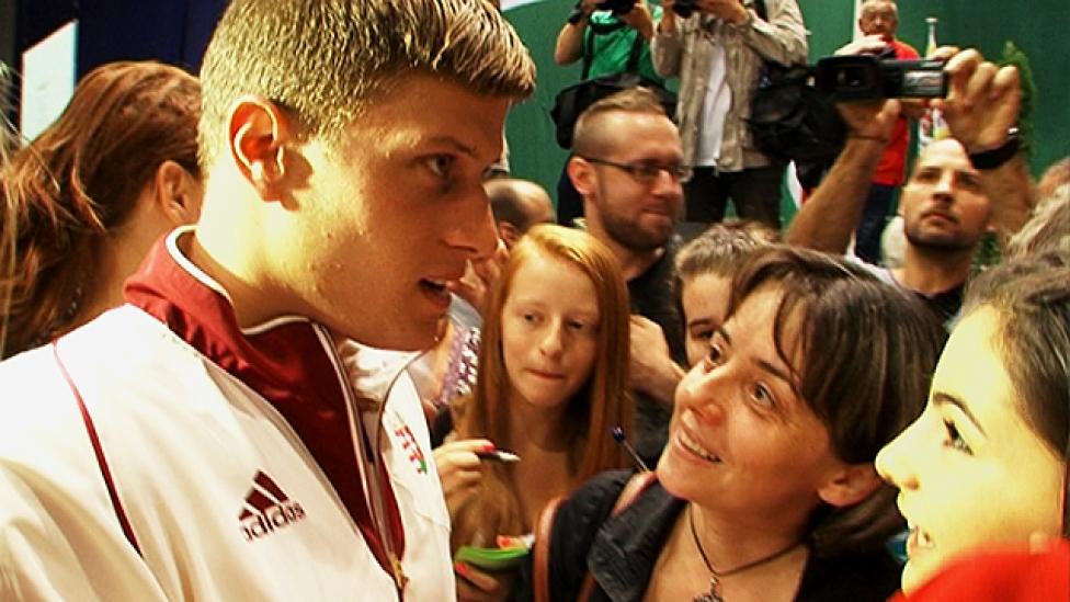 Lerohanták a magyar olimpikonokat
