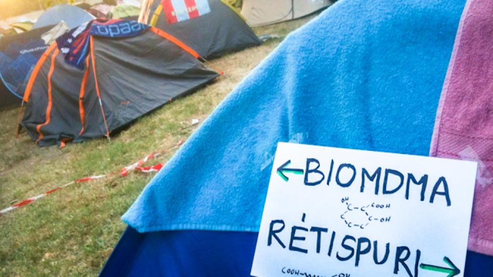 Biodrogokkal a legökóbb fesztiválért