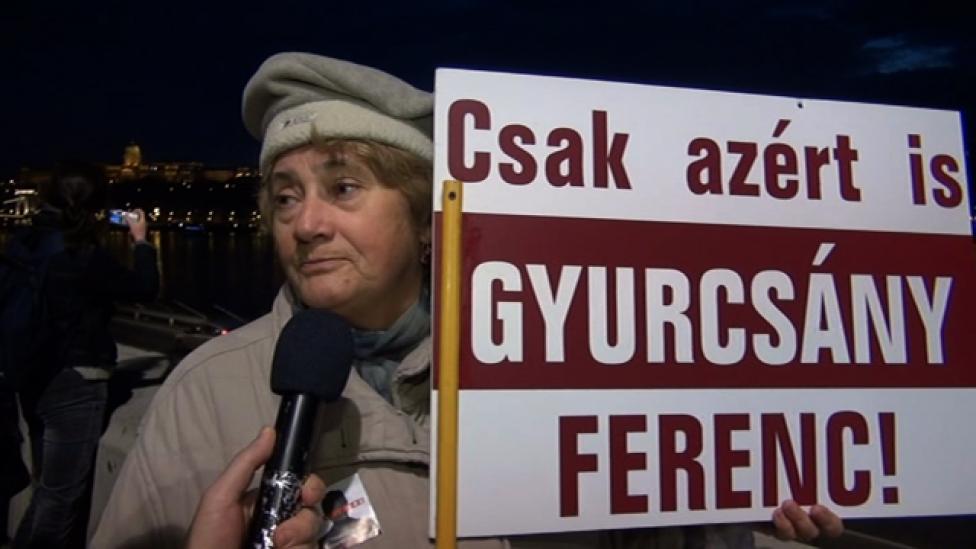 Mindnyájan Gyurcsány Ferencért vagyunk itt