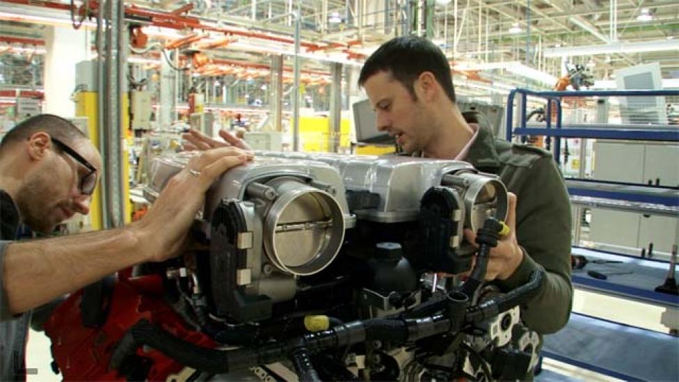 A világ legnagyobb motorgyára