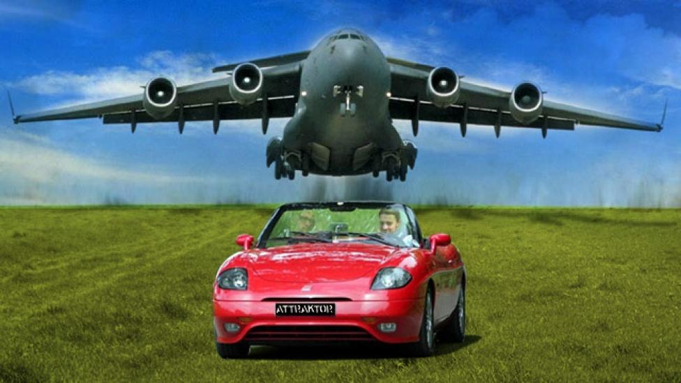 Repülő támaszpont a kisautó ellen