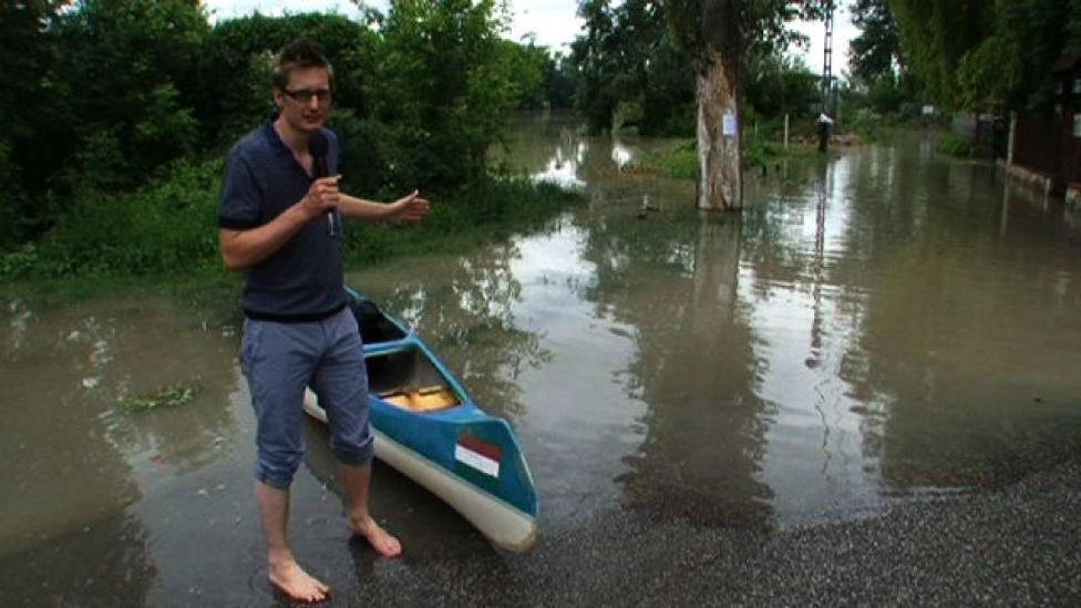 Gerillakenuztunk az árvíz sújtotta Lupán