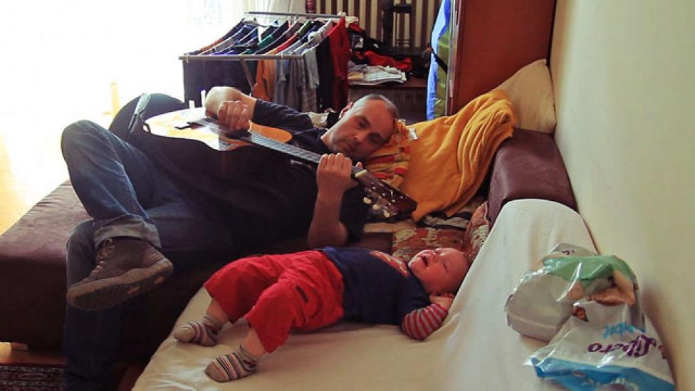 A családlátogatás folytatódik - Apuka gyesen 2.