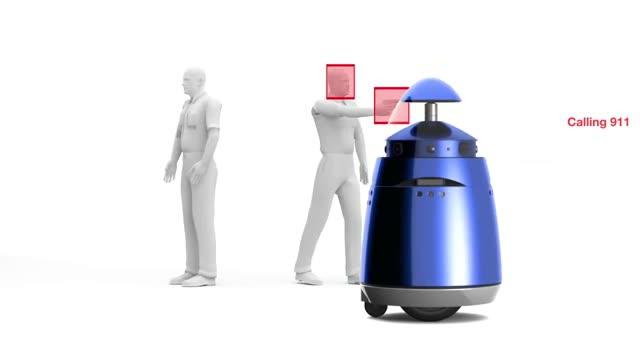 robotok a jövőben - robotrendőlt mutattak be Amerikában