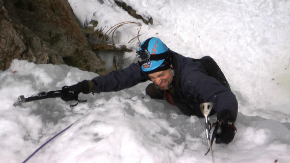 A Gyergyói-havasok legszebb jégfallépcsője
