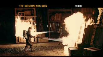 The Monuments Men Super Bowl Trailer