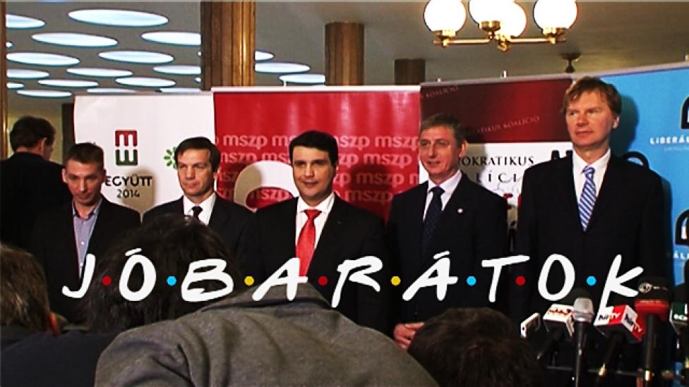 Ferenc, Gordon, Gábor, Viktor – jóbarátok