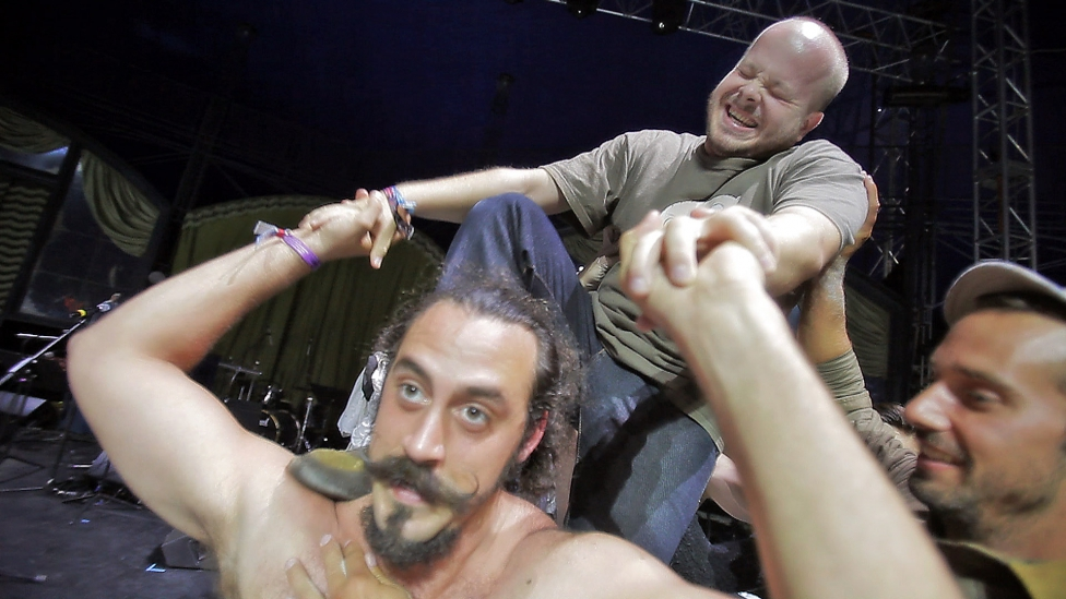 Artistákká váltunk a cirkuszsátorban