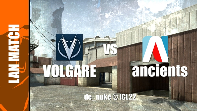 Ancients vs Volgare az ICL22-n