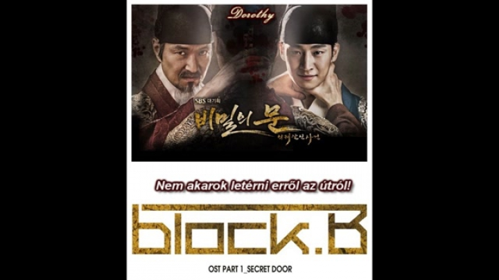 Block B - Secret door (hun sub) /Secret door OST/