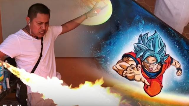 10 perc alatt festi meg Gokut