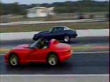 Dodge Viper RT10 vs Chevrolet Camaro Drag race