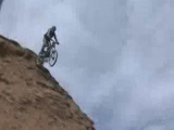 Őrült downhill video