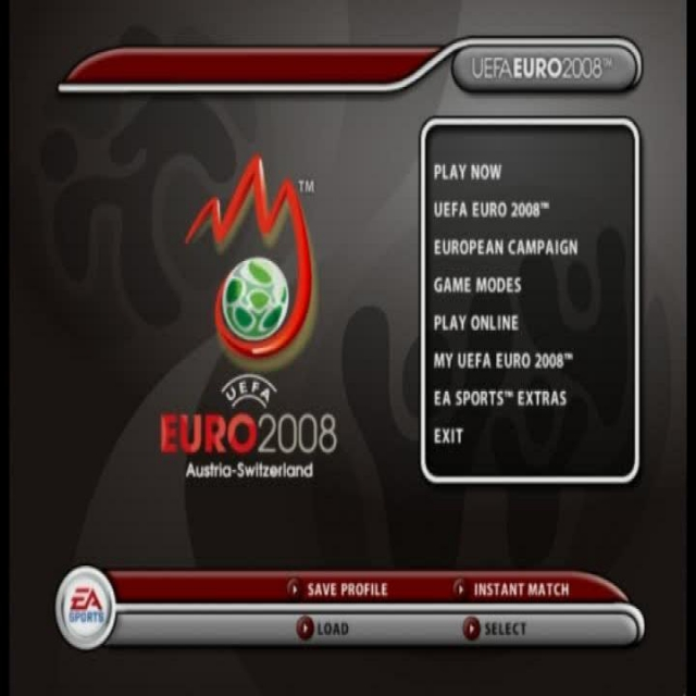 UEFA Euro 2008 PC Game Play video
