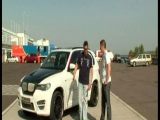 BMW X5 by Lumma a Hungaroringen