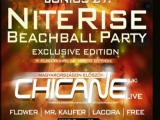 Nite Rise Beachball Party 2009.06.27. Chicane LIVE