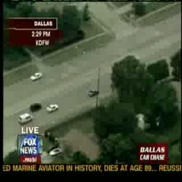 Dallas Police Car Chase Ends In Wild and Horrific Crash !!!!!