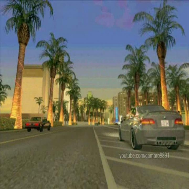 GTA SA bmw m3 drifting