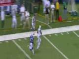 Mark Sanchez 80 yardos TD passza Edwards-nak