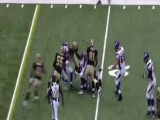 Adrian Peterson vs. Saints