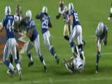 Super Bowl XLIV: Addai vs. Saints