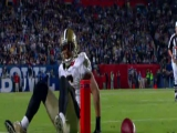Super Bowl XLIV: Saints sikeres kétpontos
