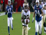 Super Bowl XLIV: Tracy Porter interception...