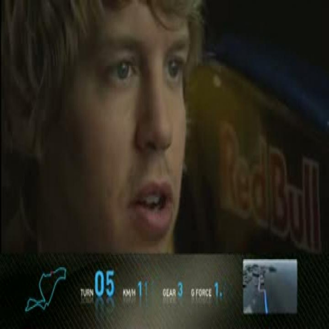 Sebastian Vettel Red Bull Racing simulator on Valencia International Circuit (german language)