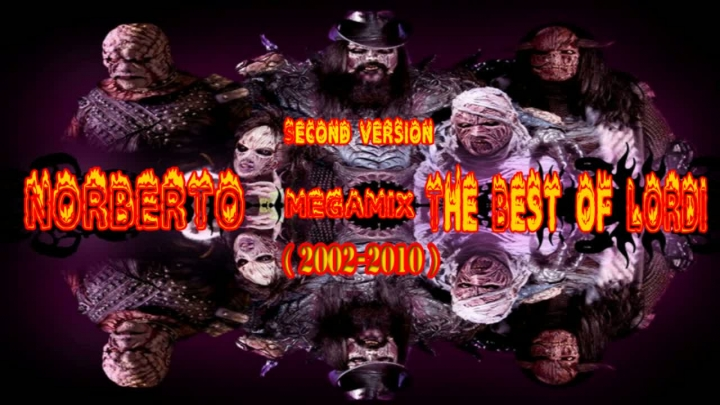 NORBERTO-The Best of LORDI ( 2002-2010 ) Second version MegaMiX