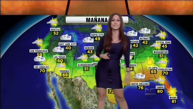 Jackie Guerrido Weather Report