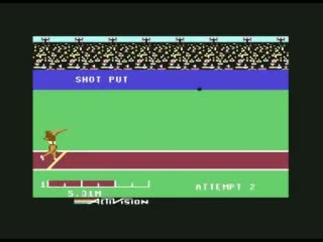 Daley Thompson's Decathlon - Commodore C64