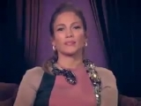 Jennifer Lopez greets Azerbaijani people