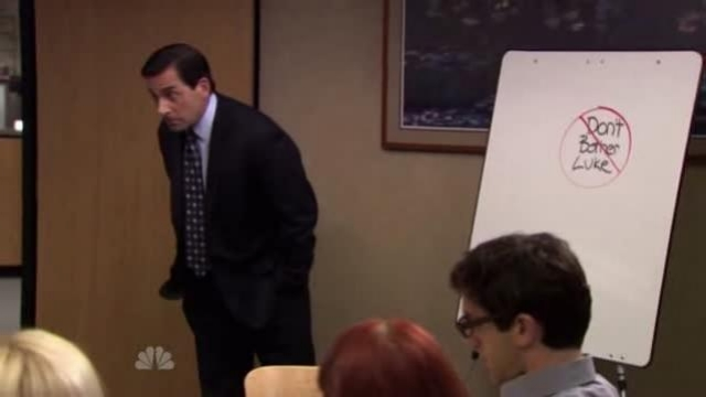 The Office - Don't bother Luke!
