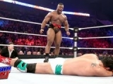Alberto Del Rio vs Big E Langston - WWE Main...