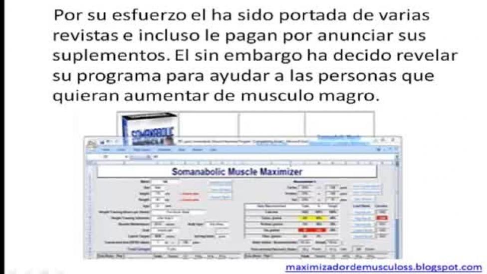 somanabolic maximizador de musculos gratis