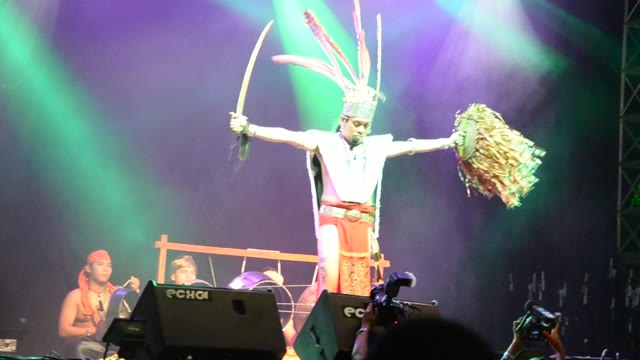 Borneo, Malajzia: Rainforest World Music Festival - 2013