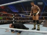 CM Punk vs. Axel & Heyman elemination handicap...