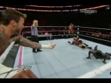 CM Punk, R Truth vs. Ryback, Curtis Axel