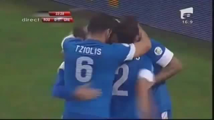 Romania vs Greece 1-1