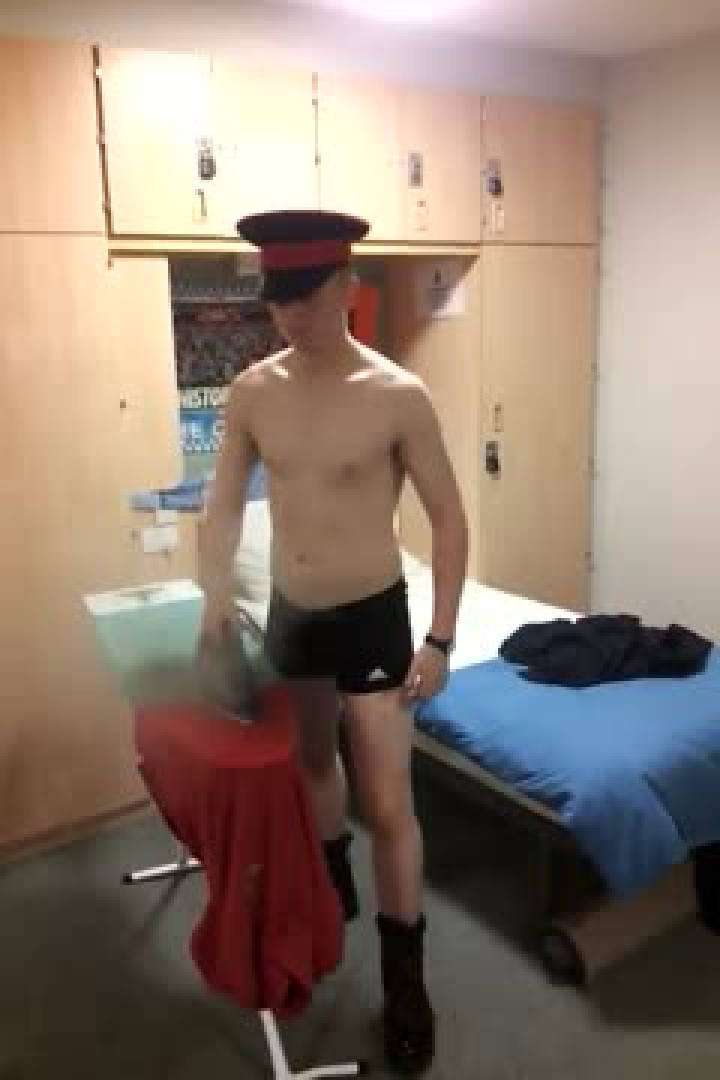 Cadets In Underwear