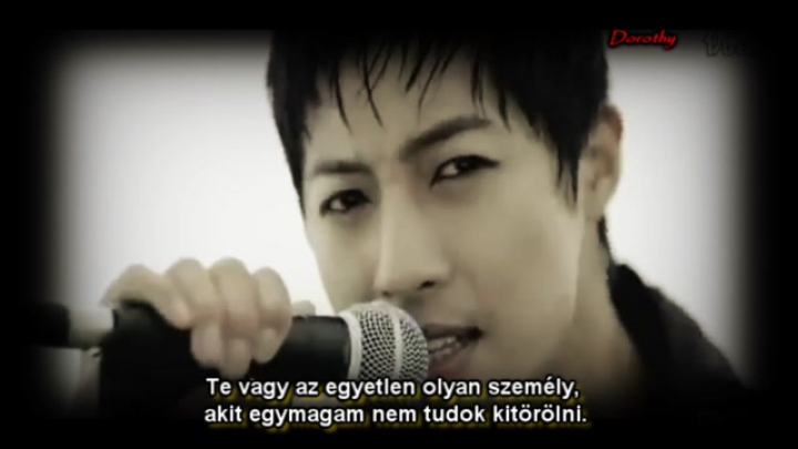 Kim Hyun Joong - I can't erase you from my mind ( hun sub / magyar felirat )