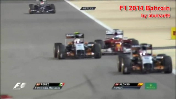 F1 2014 Bahrain by alonso99