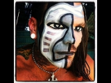 Jeff Hardy face paint - TIME and FATE - (...
