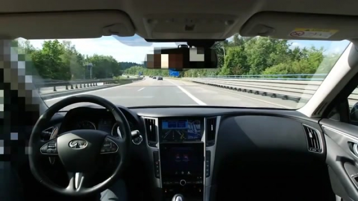 Infiniti Q50 Active Lane Control - Selfdriving Car