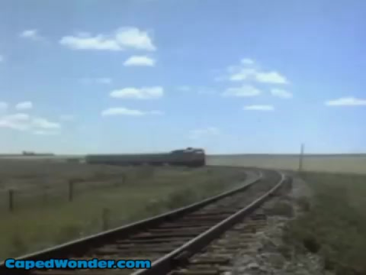 Superman The Movie Restoration Scene 8- Outracing a Train
