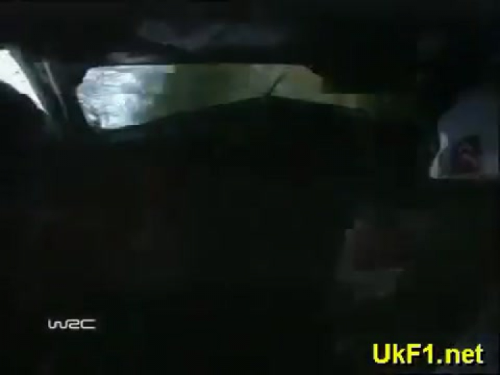 WRC 2003 Colin McRae crash onboard at Finland Rally