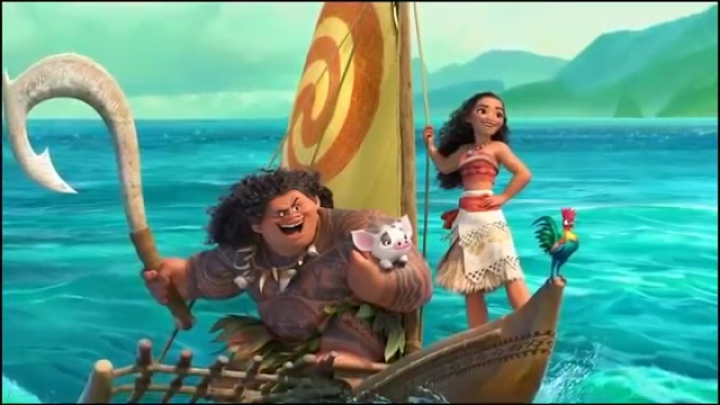 Moana - Dwayne Johnson Disney-meséje